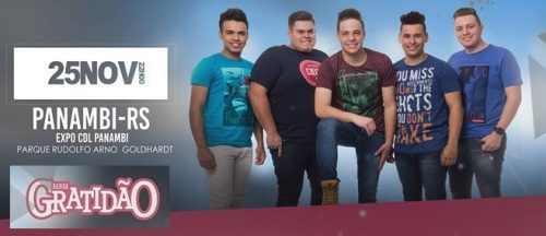 NOIA Eventos - Banda Gratidão - Panambi - RS