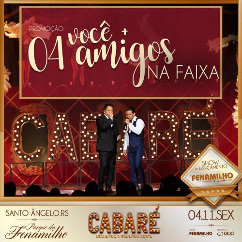 NOIA Eventos - Leonardo e Eduardo Costa - Turnê Cabaré - 04 de Novembro de 2016 - Passo Fundo - RS