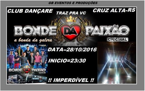 NOIA Eventos - Bonde da Paixão - A Banda da Galera - 28 de Outubro 2016 - Cruz Alta - RS