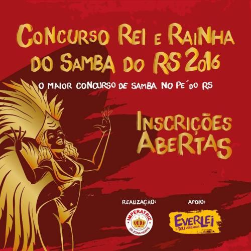 NOIA Eventos - Concurso Rei e Rainha do Samba do RS - 03 de Dezembro 2016 - Cruz Alta - RS