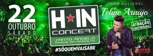 NOIA Eventos.com - Felipe Araújo H. In Concert - 22 de Outubro 2016 - Santo Ângelo - RS