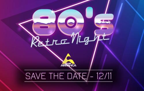 NOIA Eventos - Festa Anos 80 - Retro Night - 12 de Novembro 2016 - Cruz Alta - RS