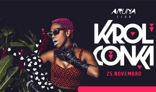 NOIA Eventos - Karol Conka - 25 de Novembro 2016 - Santa Maria - RS