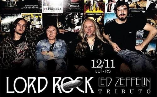 NOIA Eventos - Led Zeppelin Tributo - 12 de Novembro 2016 - Ijuí - RS