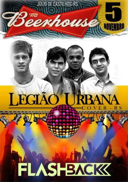 NOIA Eventos.com - Legião Urbana Cover - 05 de Novembro 2016 - Julio de Castilhos - RS