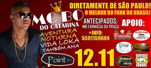 NOIA EVENTOS.com - MC BO DO CATARINA - 12 de Novembro 2016 - Ijuí - RS