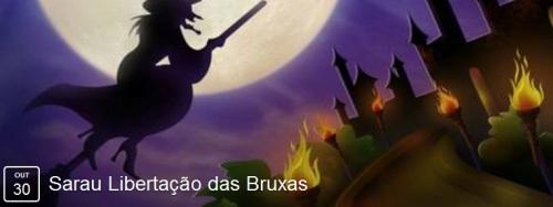 NOIA Eventos.com - Sarau Libertação das Bruxas - 30 de Outubro 2016 - Cruz Alta - RS