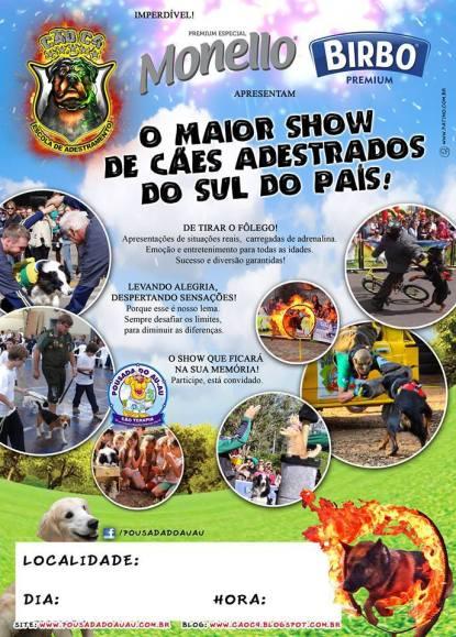 NOIA Eventos - Show de Adestramento - Parque Integrado De Exposições De Cruz Alta