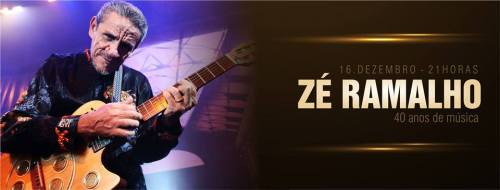 NOIA Eventos - Zé Ramalho 40 anos de Música - 16 de Dezembro 2016 - Passo Fundo - RS