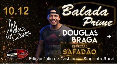 NOIA EVENTOS - Balada Prime Douglas Braga - Especial Safadão - 10 de Dezembro 2016 - Júlio de Castilhos - RS