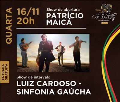 NOIA EVENTOS - Canto de Luz - Festival Nativista 5ª Edição - 16 de Novembro 2016 - Ijuí - RS