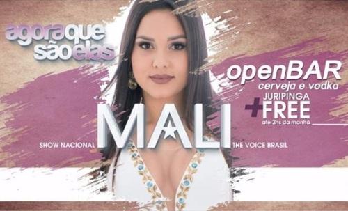 NOIA EVENTOS.com - Mali - The Voice Brasil - 25 de Novembro 2016 - Não-Me-Toque - RS