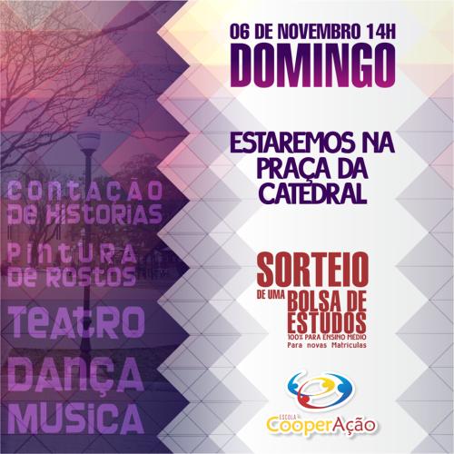 NOIA EVENTOS - Teatro Dança e Música - 06 de Novembro 2016 - Cruz Alta - RS