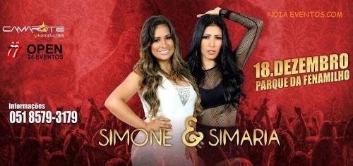 NOIAEVENTOS.com - Simone e Simaria - 18 de Dezembro 2016 - Santo Ângelo - RS