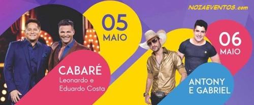 NOIAEVENTOS.com - 18ª FEICAS - Shows - 05 e 07 de Maio 2017 - Santa Bárbara do Sul - RS