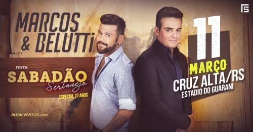 NOIAEVENTOS.com - Marcos e Belutti - 11 de Março 2017 - Cruz Alta - RS