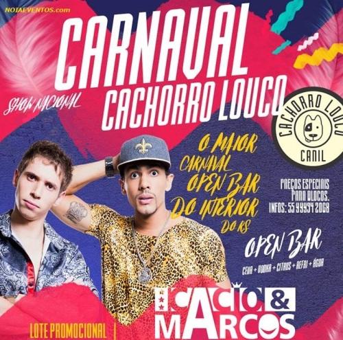 NOIAEVENTOS.com - Carnaval Cachorro Louco - 25 de Fevereiro 2017 - Cruz Alta - RS