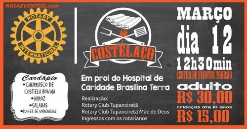NOIAEVENTOS.com - Costelaço em Prol do Hospital de Caridade Brasilina Terra - 12 de Março 2017 - Tupanciretã - RS