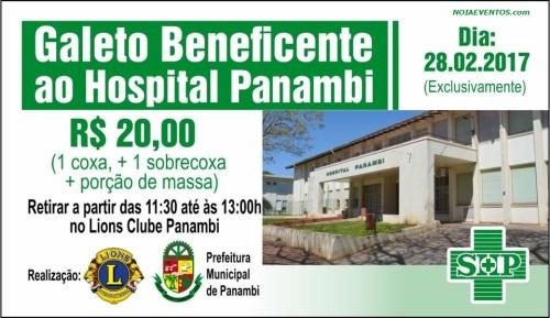 NOIAEVENTOS.com - Galeto Beneficente ao Hospital Panambi - 28 de Fevereiro 2017 - Panambi - RS