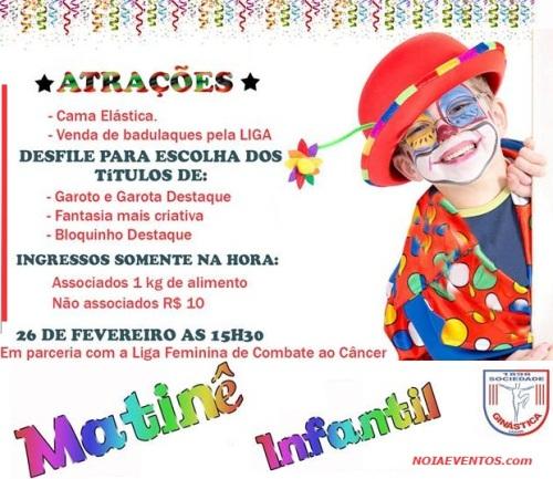 NOIAEVENTOS.com - Matinê Infantil Sogi - 26 de Fevereiro 2017 - Ijuí - RS