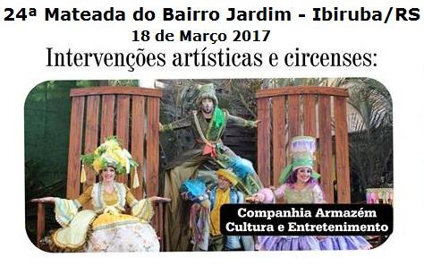 NOIAEVENTOS.com - 24ª Mateada do Bairro Jardim - Os Monarcas - 18 de Março de 2017 - Ibiruba - RS