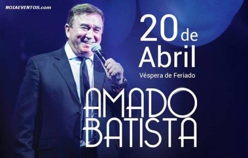 NOIAEVENTOS.com - Amado Batista - 20 de abril 2017 - Passo Fundo - RS