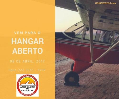 NOIAEVENTOS.com - Hangar Aberto - Aeroclube de Cruz Alta - 08 de Abril 2017 - Cruz Alta - RS