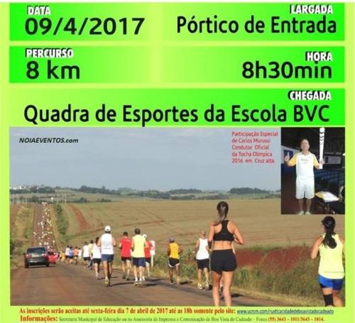 NOIAEVENTOS.com - V Rústica Cidade de Boa Vista do Cadeado 8Km - 09 de Abril 2017 - Boa Vista do Cadeado - RS