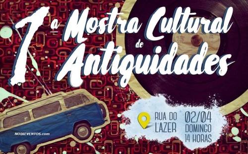 NOIAEVENTOS.com - 1ª Mostra Cultural de Antiguidades - 02 de Abril 2017 - Cruz Alta - RS