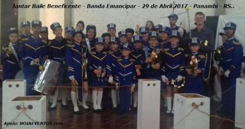 NOIAEVENTOS.com - Jantar Baile Beneficente - Banda Emancipar - 29 de Abril 2017 - Panambi - RS