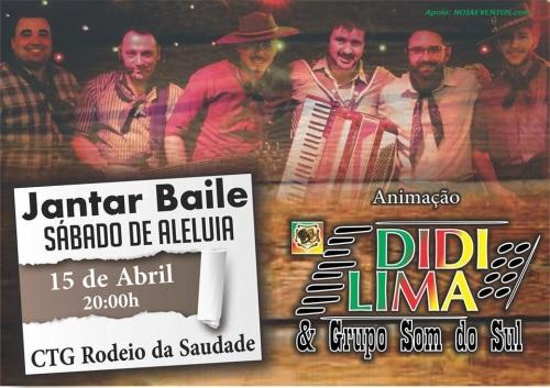 NOIAEVENTOS.com - Jantar Baile Sábado de Aleluia - 15 de Abril 2017 - Cruz Alta - RS