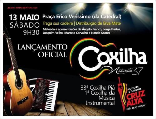 NOIAEVENTOS.com - 37ª Coxilha Nativista - Lançamento Oficial - 13 de Maio 2017 - Cruz Alta - RS