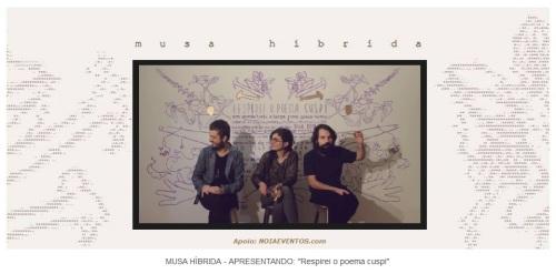 NOIAEVENTOS.com - Musa Híbrida - Respirei o Poema Cuspi - 13 de Maio 2017 - Cruz Alta - RS