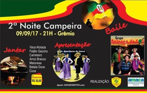 NOIAEVENTOS.com - 2ª Noite Campeira - 09 de Setembro 2017 - Cruz Alta - RS