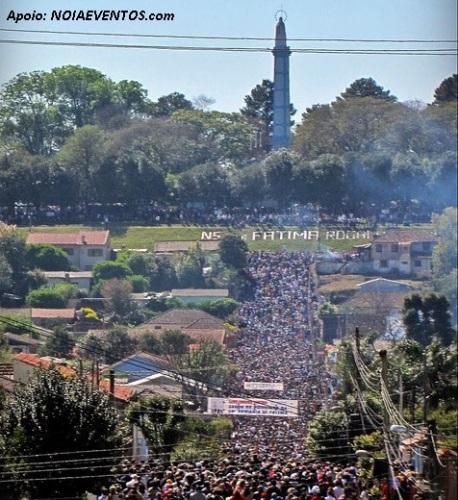 66º Romaria ao Monumento de Fátima - 08 de Outubro 2017 - Cruz Alta - RS.