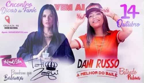 NOIAEVENTOS.com - Encontro das Divas - Tati Zaqui x Dani Russo - 14 de Outubro 2017 - Cruz Alta - RS