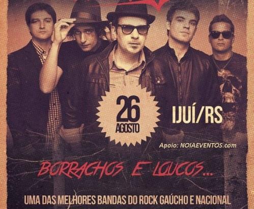 NOIAEVENTOS.com - Vera Loca - Borrachos Y Locos - 26 de Agosto 2017 - Ijuí - RS