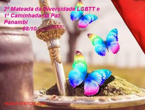 NOIAEVENTOS.com - Mateada da Diversidade LGBTT e 1ª Caminhada da Paz - Panambi
