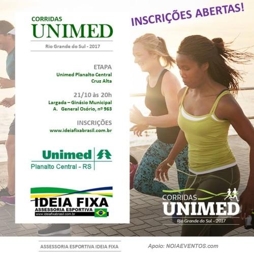 NOIAEVENTOS.com - Corridas UNIMED 2017 - Etapa Cruz Alta