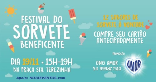 NOIAEVENTOS.com - Festival do Sorvete - 3ª Edição - Passo Fundo - RS