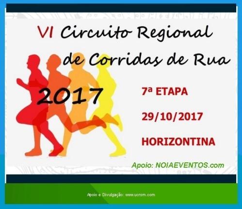NOIAEVENTOS.com - VI Circuito Regional de Corrida de Rua - 7ª Etapa