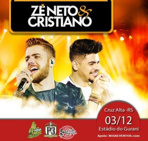 NOIAEVENTOS.com - Zé Neto e Cristiano - Cruz Alta
