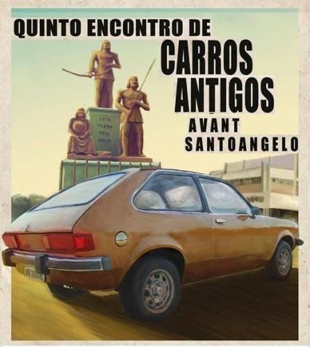 NOIAEVENTOS.com - 5º Encontro de Carros Antigos AVANT- 17,1803 - Santo Ângelo
